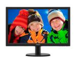 "MONITOR 23.6"" W-LED PHILIPS 243V5LSB5 V-line WIDE VGA/DVI-D 10.000.000 :1 5MS 1920x1080 Full HD BLACK"