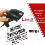 LETTORE BARCODE METEOR LION 2D / QR-CODE IMAGER USB CODICI A BARRE