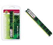MEMORIA RAM DDR-II 2 GB PC 667 CL5 TRANSCEND