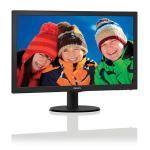 "MONITOR 21.5"" W-LED PHILIPS 223V5LSB2 V-line WIDE VGA 10.000.000:1 5MS 1920x1080 Full HD 1080p BLACK"