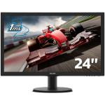 "MONITOR 23.6"" W-LED PHILIPS 243V5LHAB V-line WIDE VGA/DVI-D/HDMI 10.000.000 :1 1MS (GAMING) 1920x1080 Full HD MULTIMEDIALE BLACK"