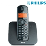 CORDLESS PHILIPS DECT CD1501B/23 RUBRICA 50 NUMERI COLORE NERO