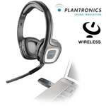 CUFFIA E MICROFONO WIRELESS Plantronics 2.4GHz .Audio 995