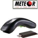 LETTORE BARCODE METEOR LION ZIGBEE IMAGER CCD LR WIRELESS  CODICE A BARRE + RICEVITORE USB