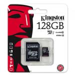 MEMORIA KINGSTON MICRO SD TRANSFLASH HC 128GB Classe 10 SDC10G2/128GB