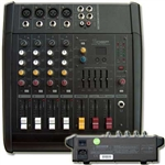 Mixer 4 canali + 5 band equalizer + effetto  DSP per voce