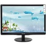 "MONITOR 18.5"" W-LED PHILIPS 193V5LSB2 WIDE 10.000.000 :1 5MS 1366x768 BLACK"