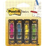 POST-IT 3M INDEX 684-ARR4 4 FRECCE COLOR