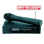 RADIOMICROFONO PROFESSIONALE RELOOP RWM1 HH UHF 863.9mHZ + RICEVITORE