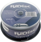 SUPPORTO RIDISC DVD-R 4.7GB/120min 16x CONF. 25PZ